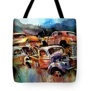Heaped Wrecks Tote Bag