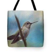 Hear Her Song - Hummingbird Art Tote Bag