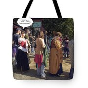 Hear Me Now Tote Bag