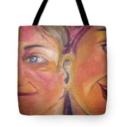 Hearing The Same Stories Tote Bag