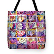 Heart 2 Heart Tote Bag