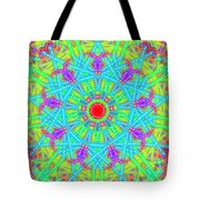 Heart At The Center Tote Bag