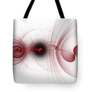 Heart Break - Abstract Tote Bag