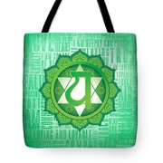 Heart Chakra - Awareness Tote Bag