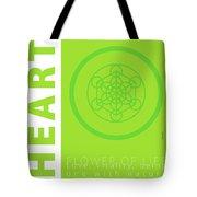 Heart Chakra Series Three Tote Bag
