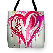 Heart Energy Tote Bag