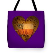 Heart For Texas Tote Bag