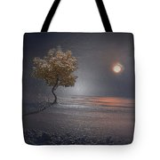 Heart In Far Light Tote Bag
