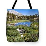Heart Lake Folaige Tote Bag