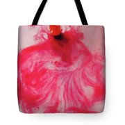 Heart  Meringue Tote Bag