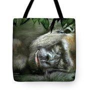 Heart Of A Beast Tote Bag
