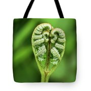 Heart Of A Fern Tote Bag