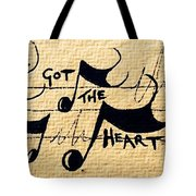 Heart Of A Star Tote Bag
