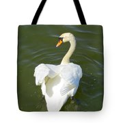 Heart Of A Swan Tote Bag