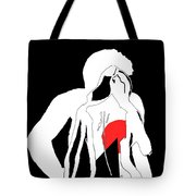 Heart Of A Woman Tote Bag