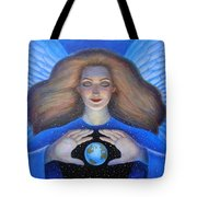 Heart Of Creation Tote Bag