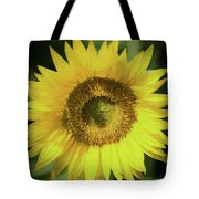 Heart Of Gold Sunflower Tote Bag