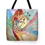 Heart Of Her World Tote Bag