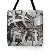Heart Of Man Tote Bag