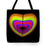 Heart Of Ochre Tote Bag