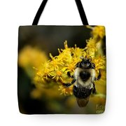 Heart Of The Bee Tote Bag