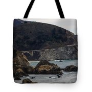 Heart Of The Bixby Bridge Tote Bag