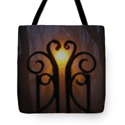 Heart Of The Cemetery Tote Bag