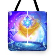 Heart Of The Galaxy Tote Bag