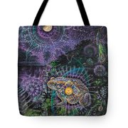 Heart Of The Mystery Tote Bag