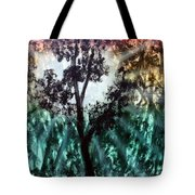 Heart Of The Rain Forest Tote Bag