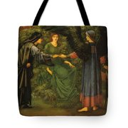 Heart Of The Rose 1889 Tote Bag