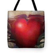 Heart Of The Sunrise Tote Bag