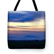 Heart Of The Valley Tote Bag