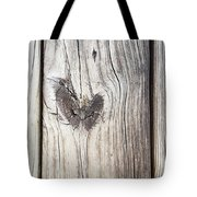 Heart Of Wood Tote Bag