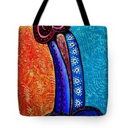 Heart On Painting Tote Bag