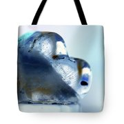Heart On The Edge Tote Bag
