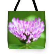 Heart Shaped Clover Tote Bag