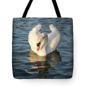 Heart Shaped Pride And Grace Tote Bag