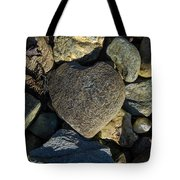 Heart Shaped Stone Loch Fyne  Tote Bag