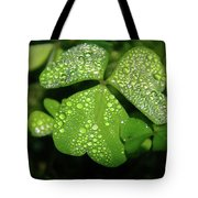 Heart Shaped With Water Drops Tote Bag