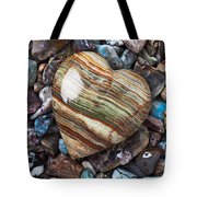 Heart Stone Tote Bag