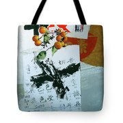 Heart Sutra Tote Bag by Cliff Spohn