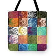 Heart To Heart Rendition 5x6 Equals 30  Tote Bag