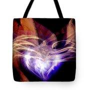 Heart Wings Tote Bag