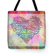 Heartfull Messages Tote Bag