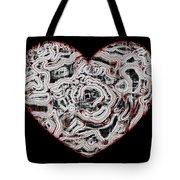 Heartline 1 Tote Bag
