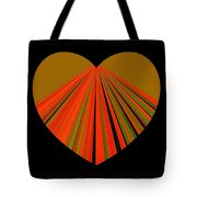 Heartline 5 Tote Bag by Will Borden