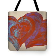 Hearts A-flutter Tote Bag