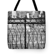 Hearts And Crosses Tote Bag