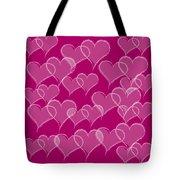 Hearts Tote Bag